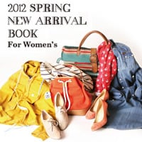 2012 SPRING NEW ARRIVAL BOOK for WOMEN'S