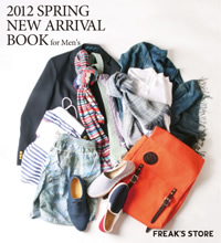 2012 SPRING NEW ARRIVAL BOOK for Men's