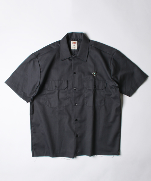 HTC × DICKIES × FREAK'S STORE [送料無料]予約商品 FLOWER TQ SHIRTS 【Begin4月号掲載】