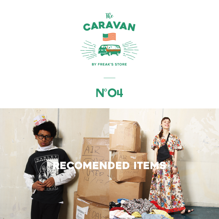 THE CARAVAN / vol.4 RECOMENDED ITEMS
