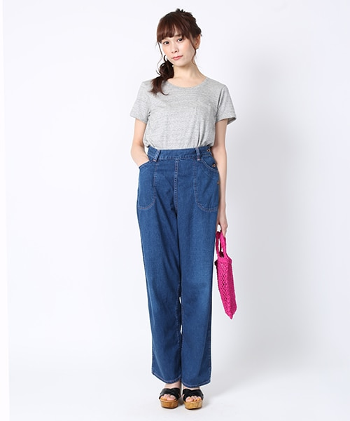 or slow DENIM RANCH PANTS