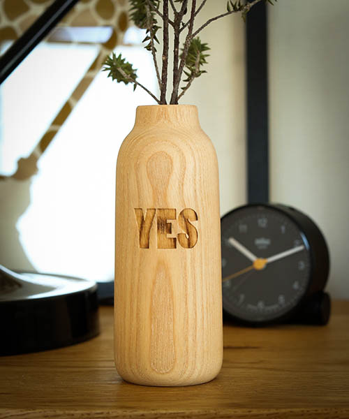 SEE SEE YES,NO VASE