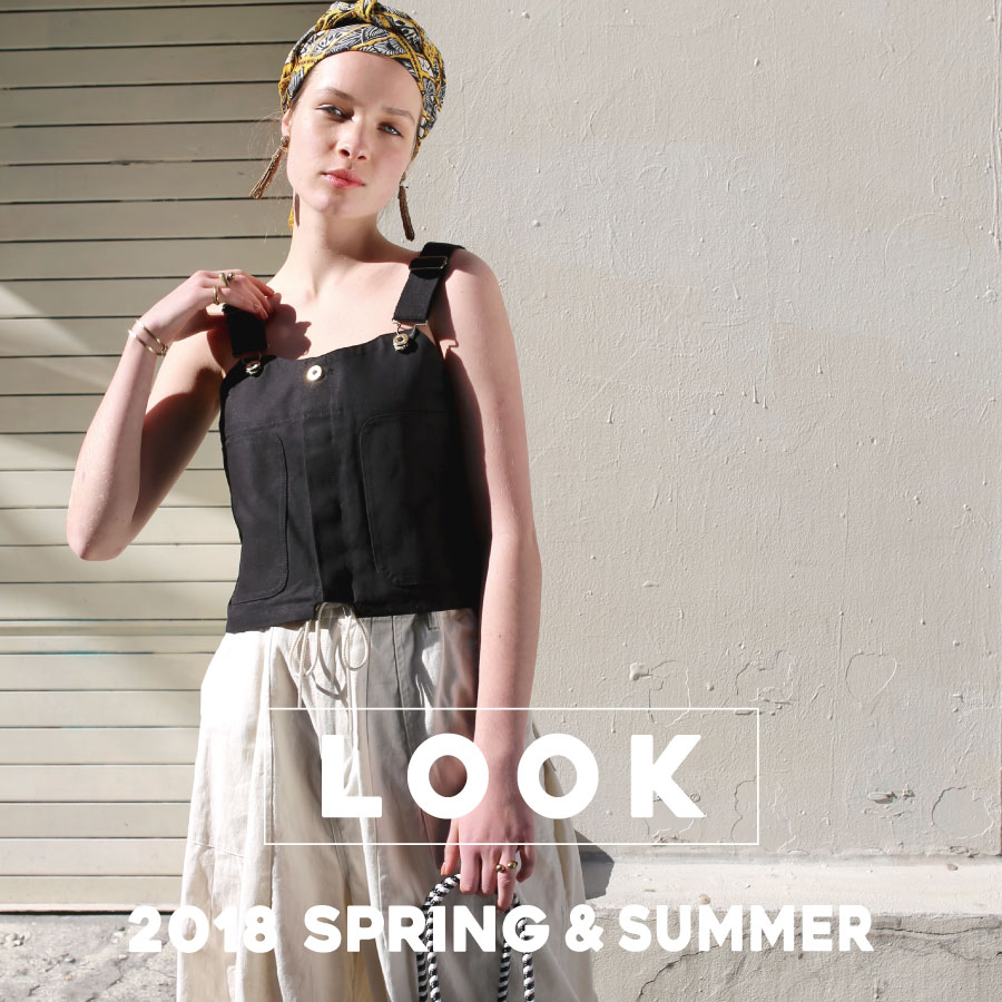 <LOOK>Spring & Summer for Women's