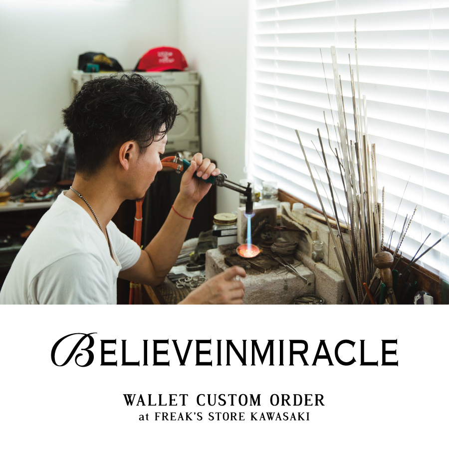 BELIEVEINMIRACLE WALLET CUSTOM ORDER