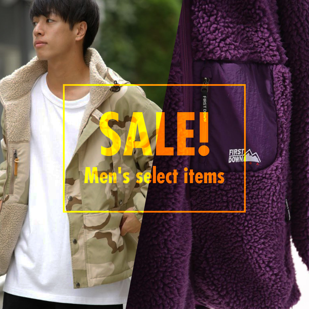 【MORE SALE】Men's select items