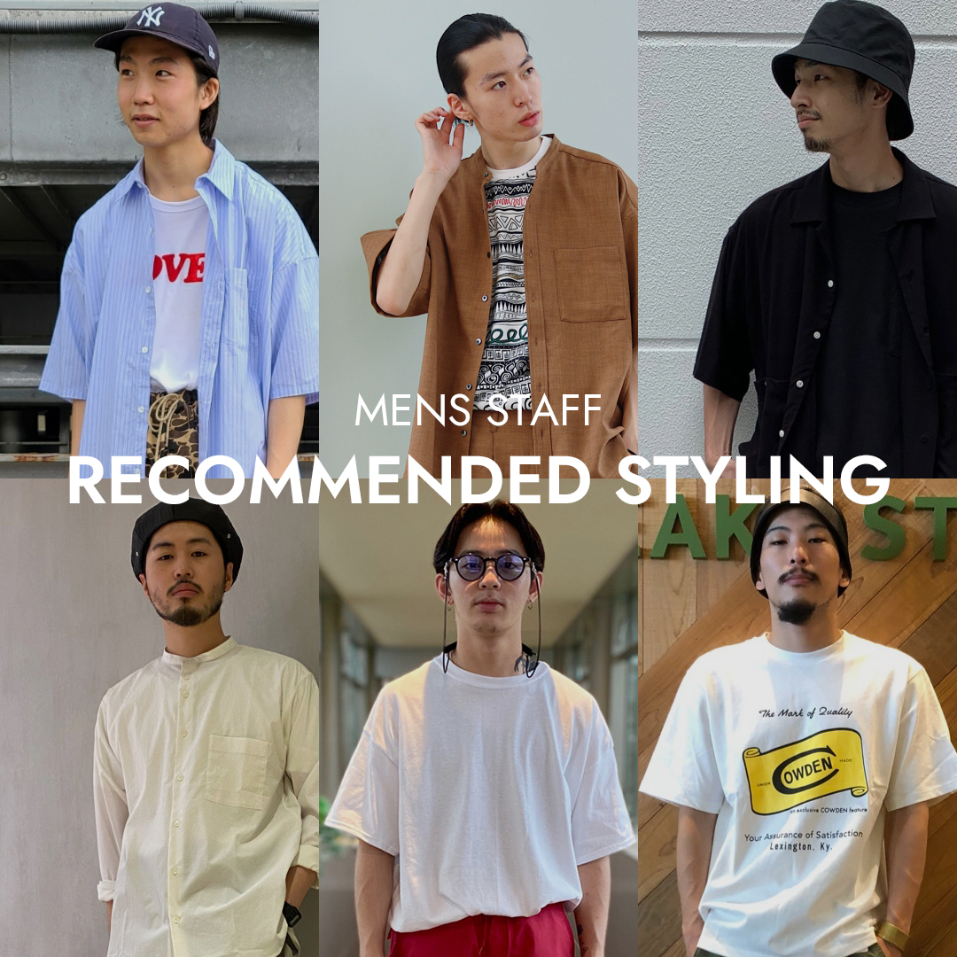 MENS STAFF RECOMMENDED STYLING