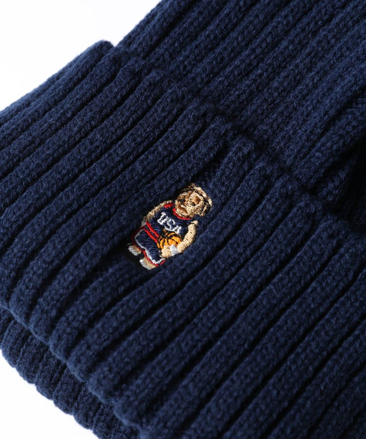 BEAR KNIT CAP