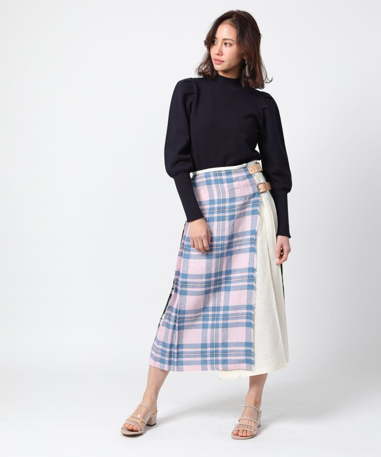 Patchwork Kilt Skirt