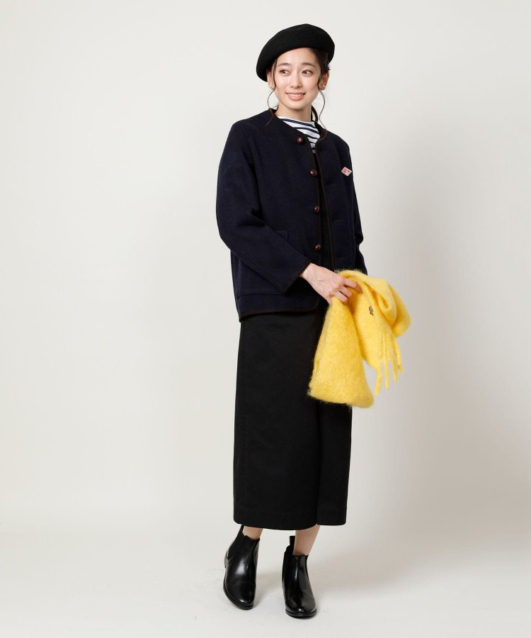 【WEB限定】WOOL MOSSER NO COLLAR