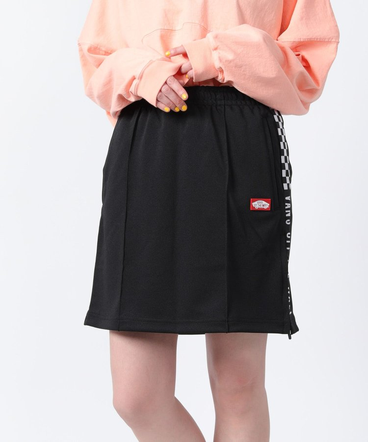 【WEB限定】Checker Sports Track Skirt