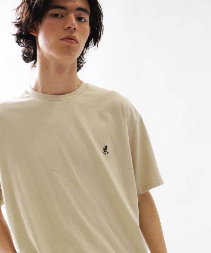 別注ロゴ刺繍Tシャツ