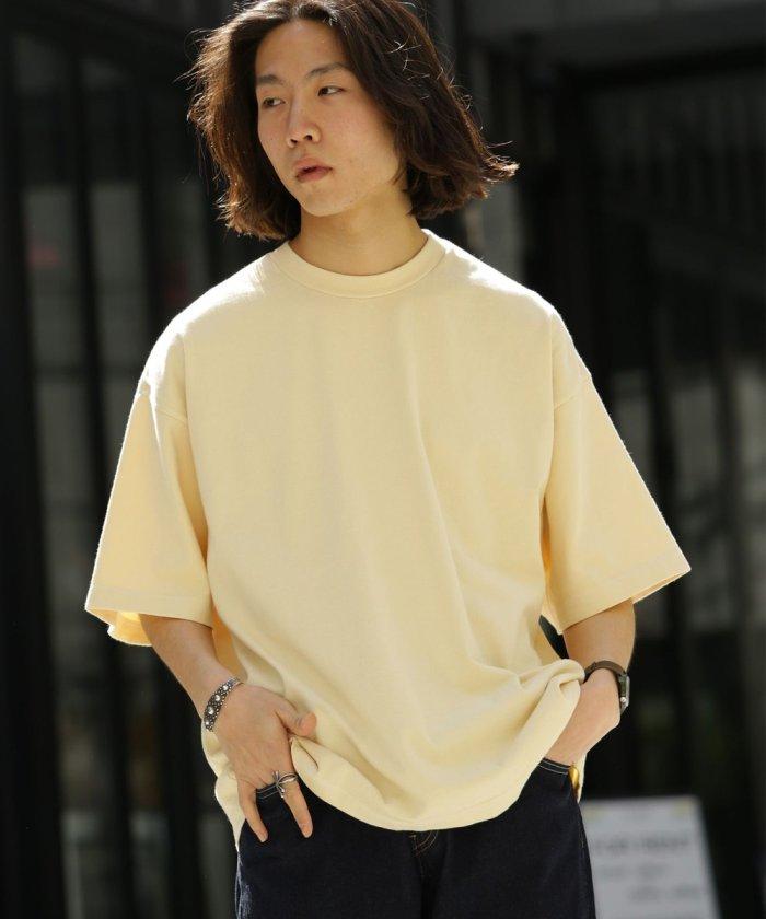 2ply jersey T/ビッグシルエットTシャツ