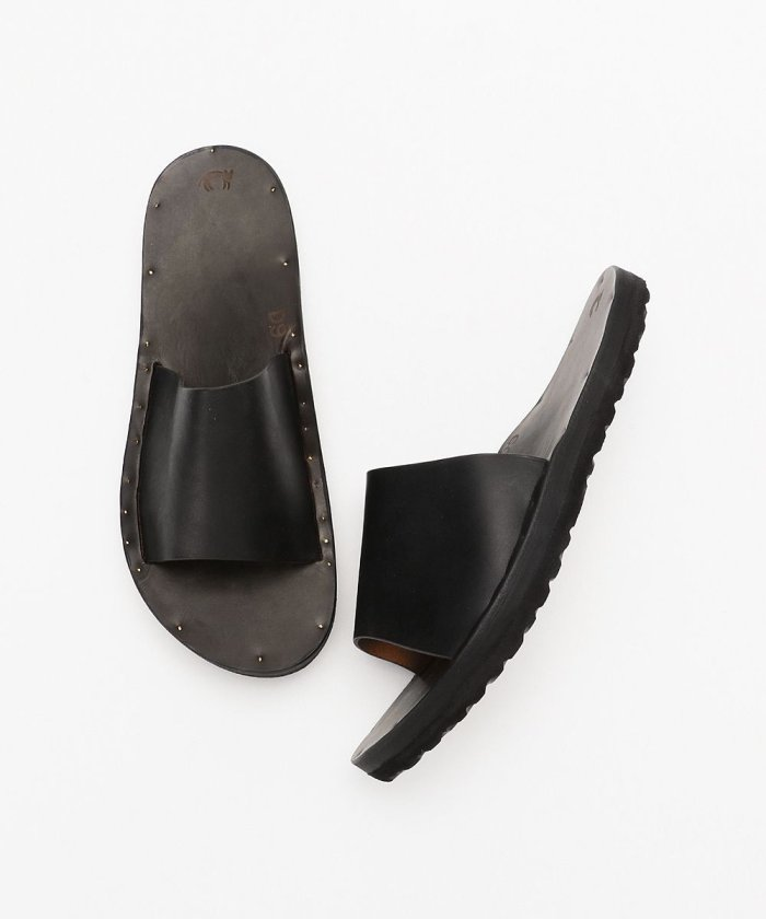 SIMONE with Birkenstock sole/サイモン レザーサンダル