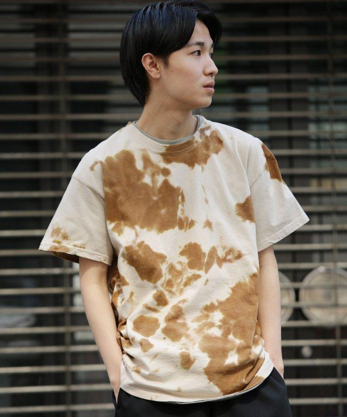 スプリンクル Tシャツ/ビッグシルエット タイダイ半袖Tシャツ