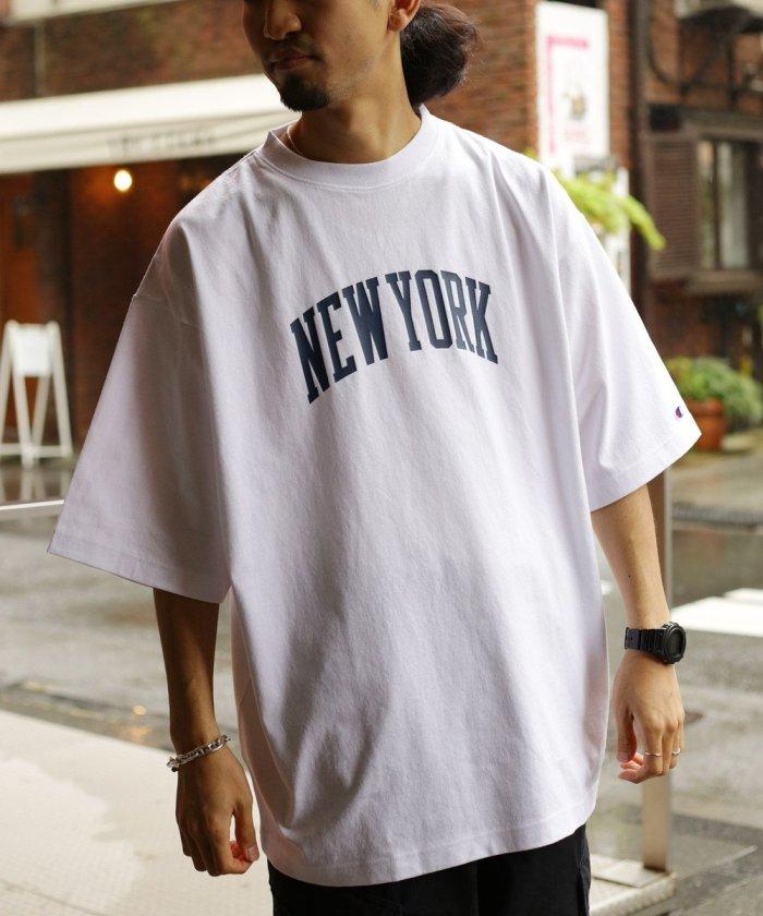 別注ビッグサイズCITYプリントTシャツ【WEB限定】