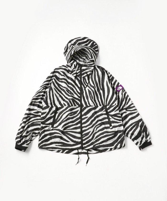 Zebra Print Mountain Wind Parka/NP2009N