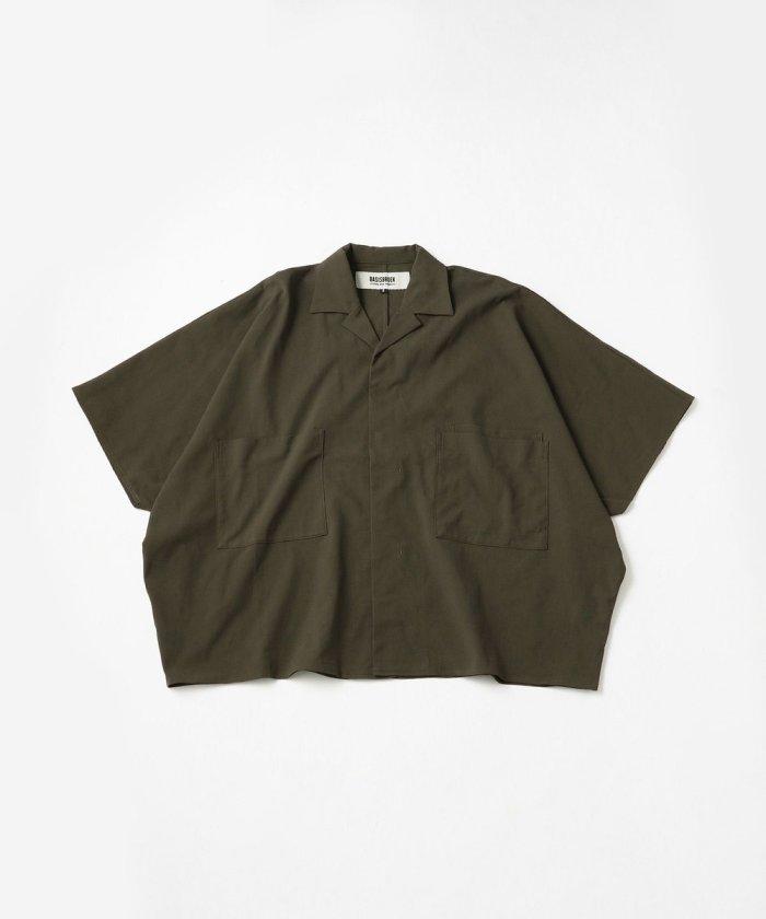 ETU/ビッグシルエットオープンカラーシャツ