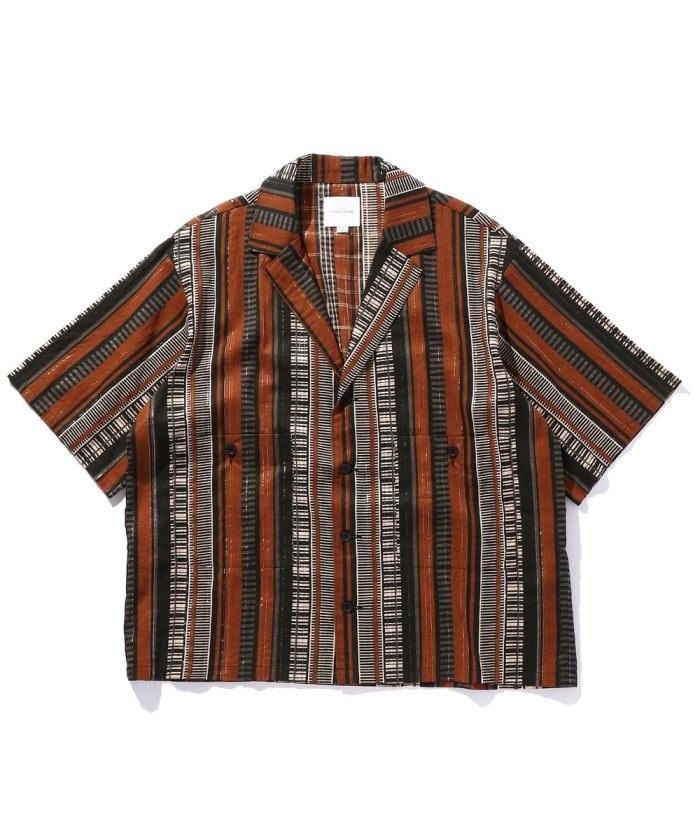 India Open Collar SS SHIRT / インディア オープンカラー ショートスリーブ シャツ