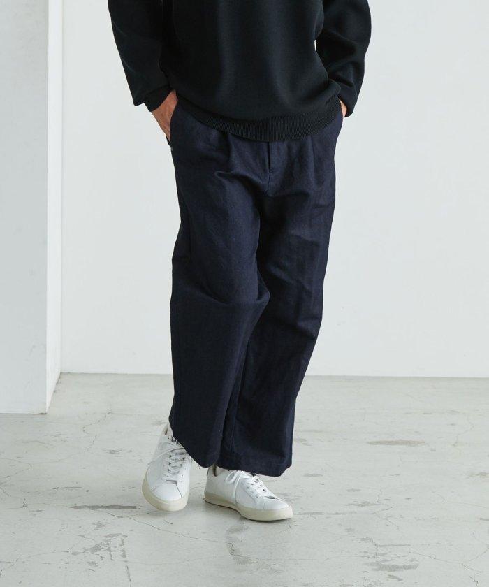 WA-CLOTH Tuck Pants/ワクロスタックパンツ