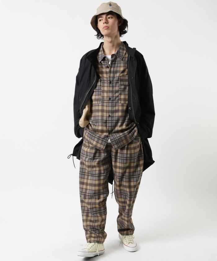 【WEB限定セットアップ商品】シェフシャツセットアップ / シェフシャツ&シェフパンツ