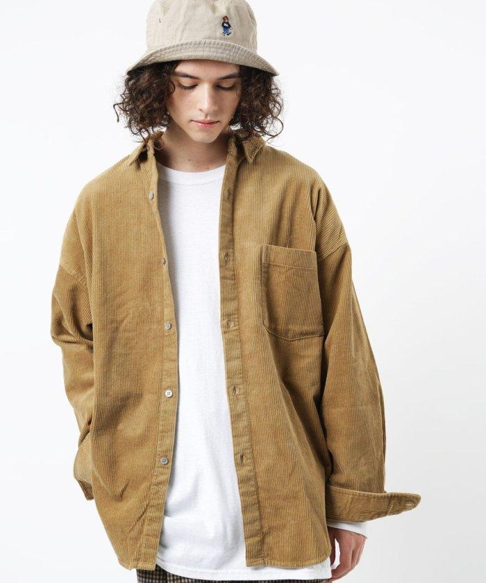ビッグシルエット レギュラーカラーシャツ / ビッグシルエット / オーバーサイズ