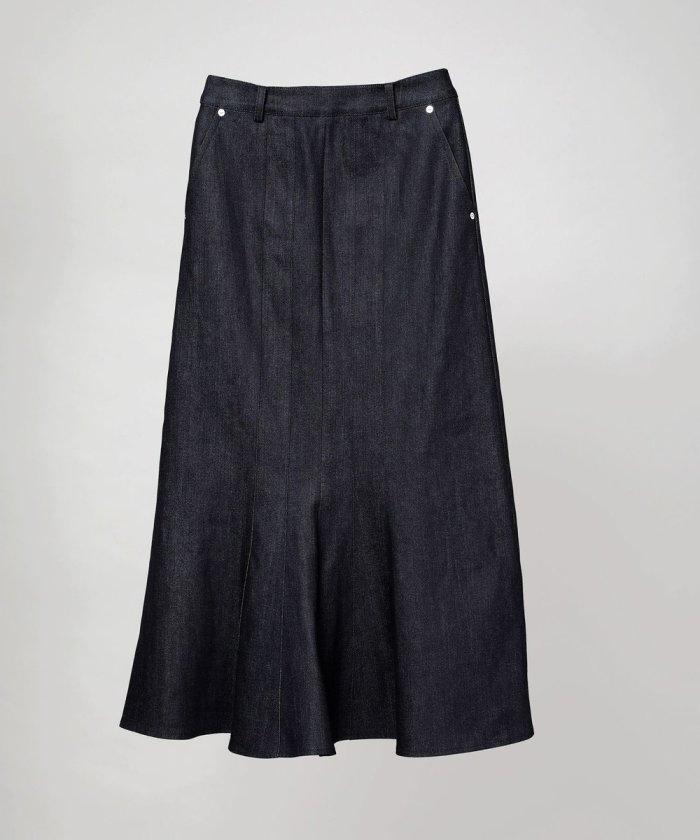 デニムゴアスカート
