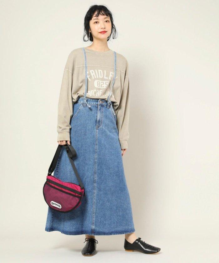 別注Laceup skirt