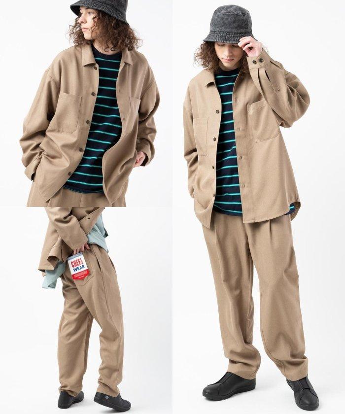 【定番12色展開】シェフシャツ SET UP【【WEB限定】】