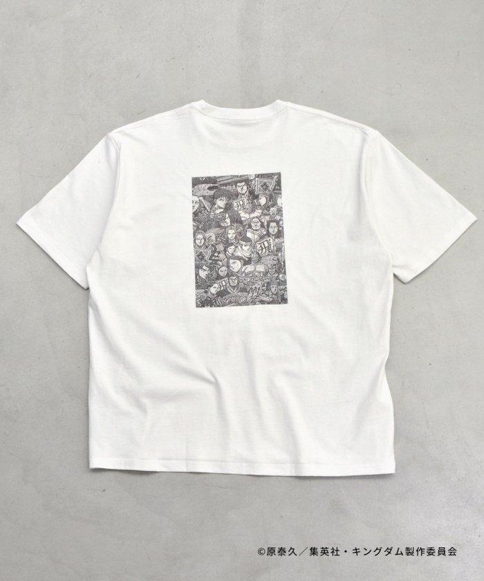 キングダム 総柄Tシャツ / プリントTシャツ
