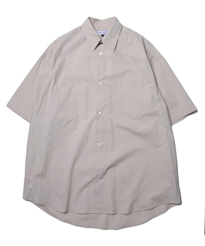 Wide Fit ワイドフィット レギュラーカラー ショートスリーブシャツ/オーバーサイズ【WEB限定】