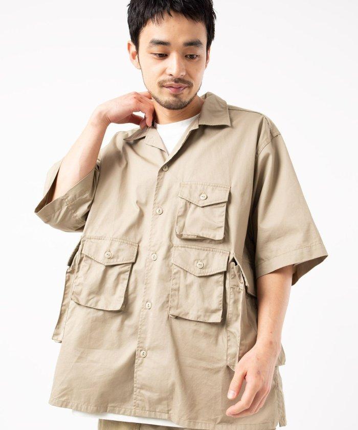 別注FA Over Size Shirts -High Count Twill
