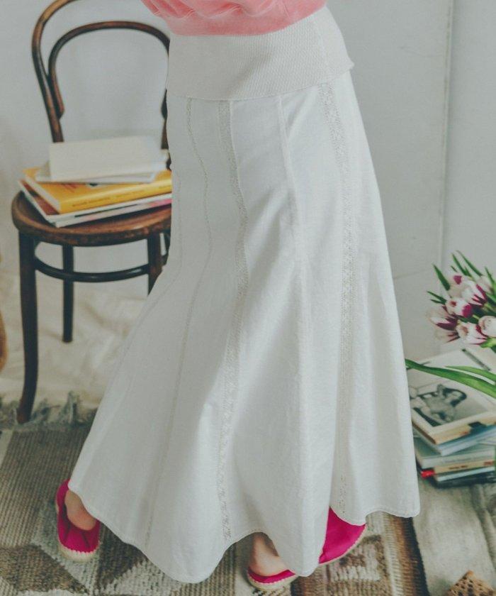 アンティークレーススカート