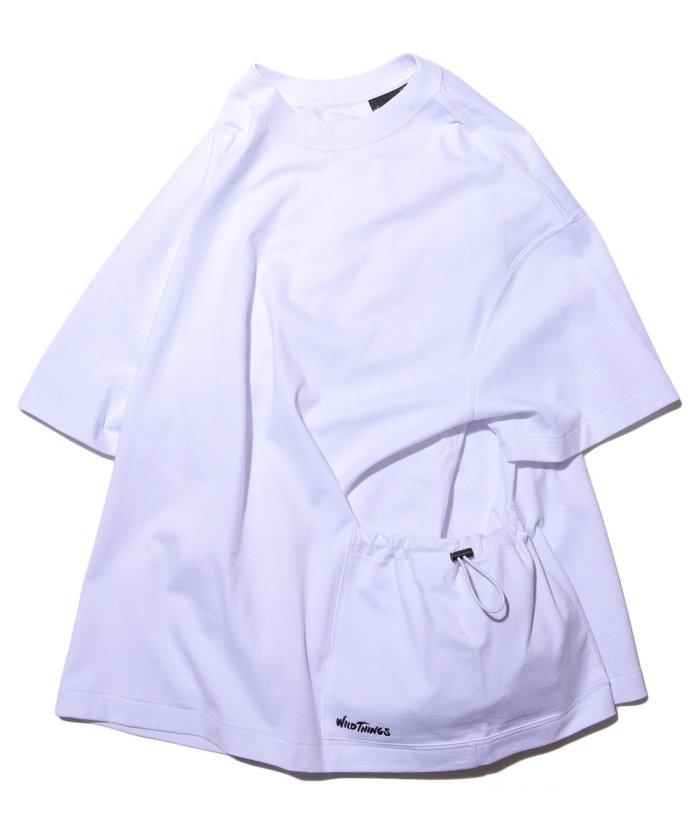 別注 ビッグシルエット ダブルポケットTシャツ【WEB限定】