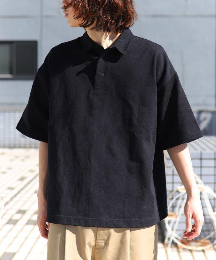 ビッグシルエット マックスウェイト ポロシャツ/オーバーサイズ【WEB限定】