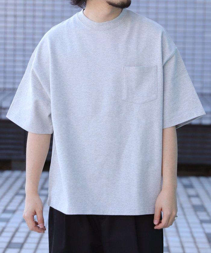 ビッグシルエット マックスウェイト クルーネック ショートスリーブTシャツ/ポケットTシャツ/ポケT【WEB限定】