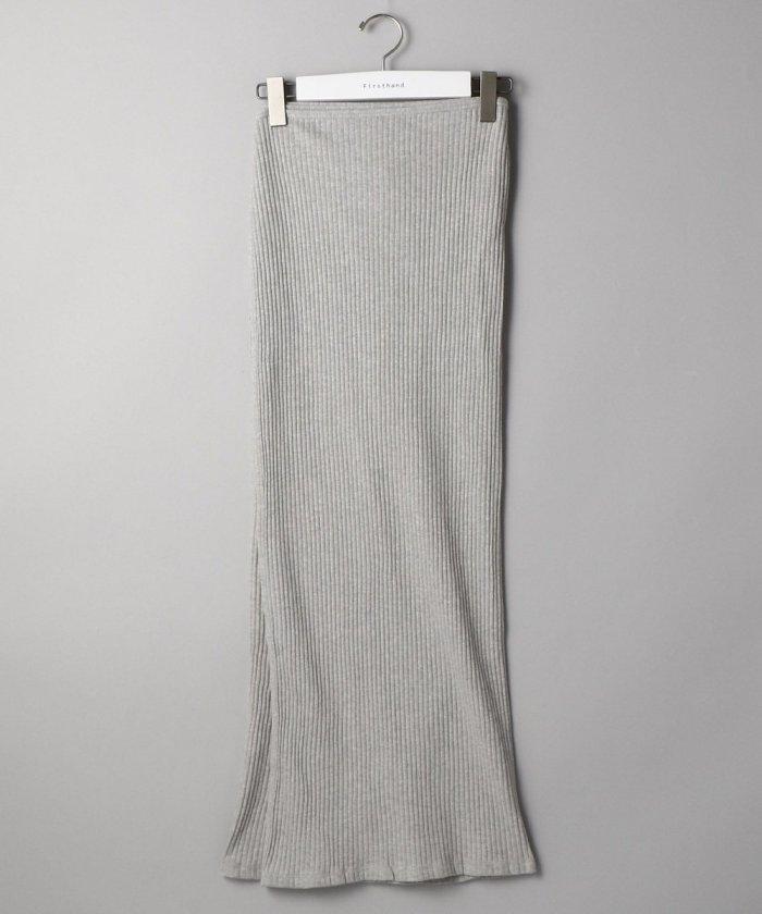 Baserange / ベースレンジ BRIG SKIRT / リブタイトスカート