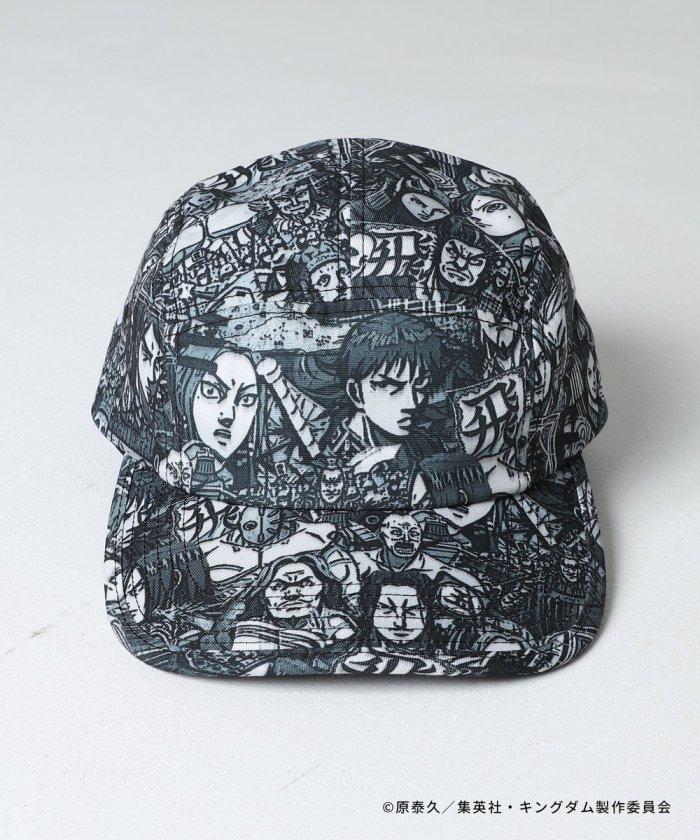 キングダム 総柄CAP