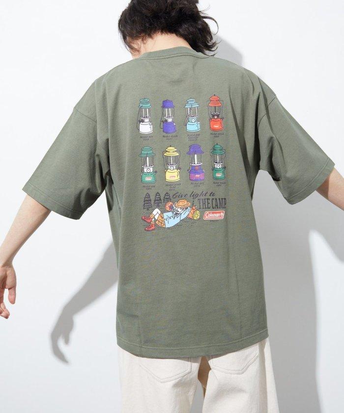 LID BREAK ランタン バックプリント ポケット Tシャツ