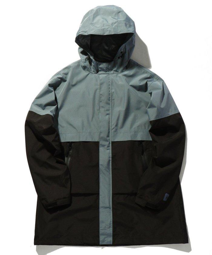 ウォータープルーフカラーブロックジャケット