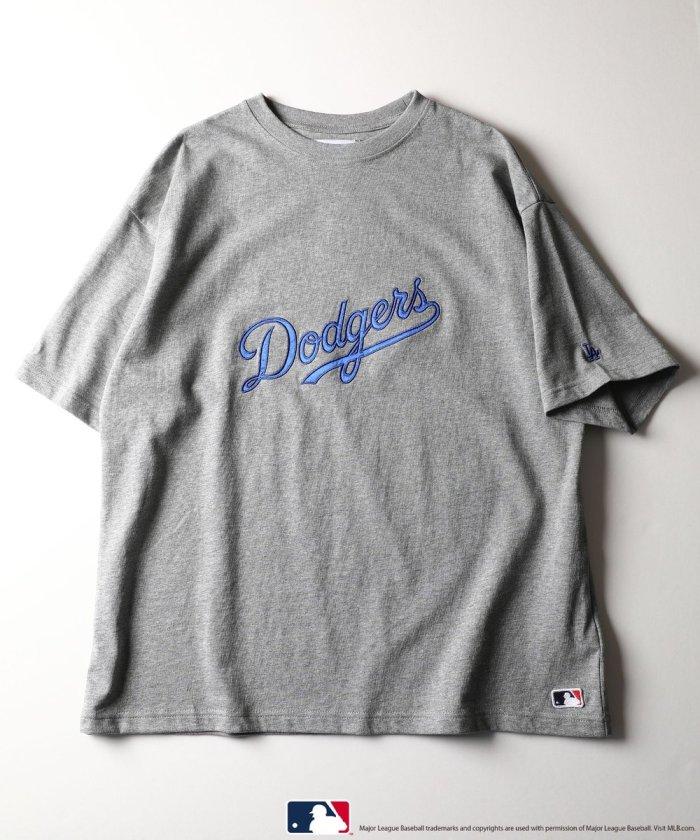 別注 Dodgers Logo 刺繍デザインTシャツ【WEB限定】【一部予約商品】