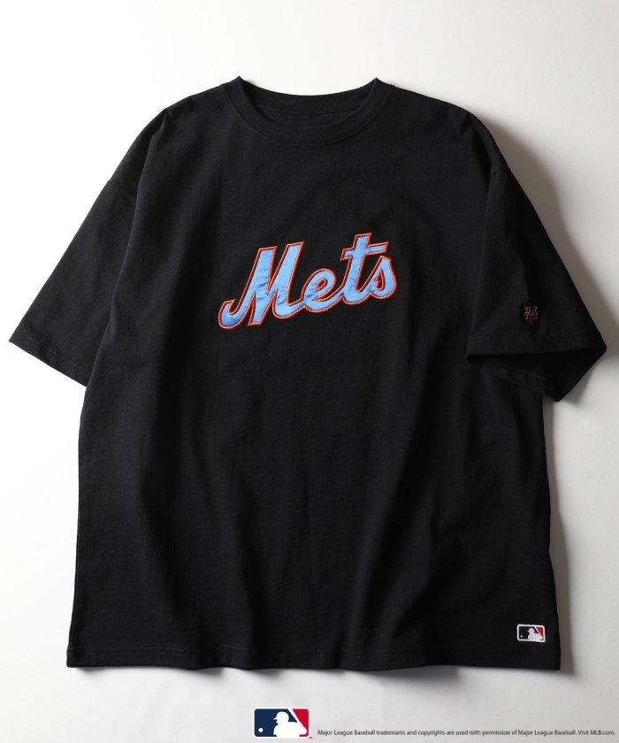 別注 Mets Logo 刺繍デザインTシャツ【WEB限定】