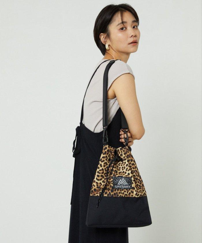 別注Cinch Bag Leopard