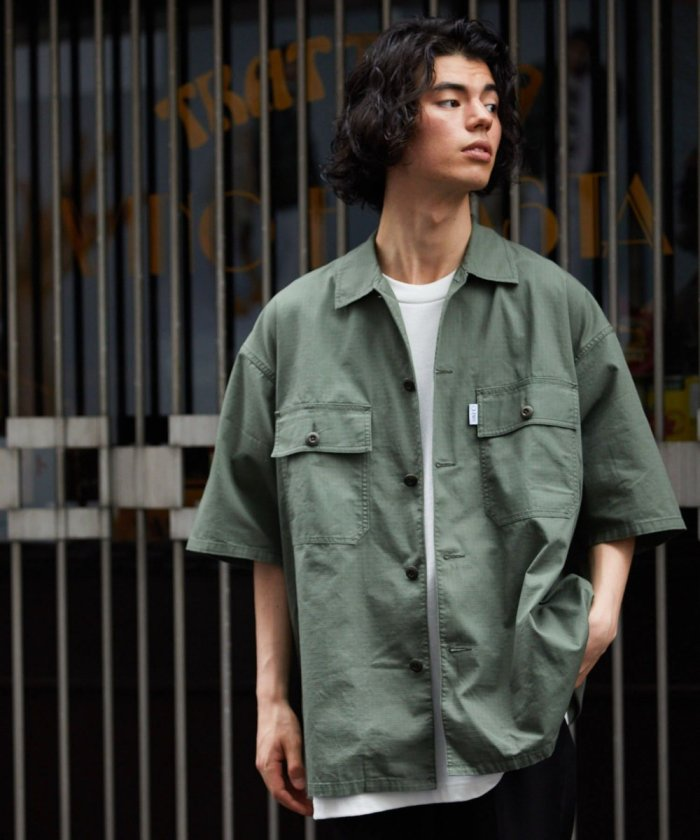 FATIGUE SHIRT SHORT SLEEVE/半袖 ファティーグシャツ