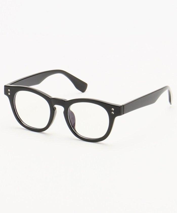 太縁メガネ
