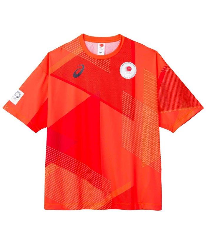 東京2020オリンピック日本代表選手団公式応援グッズ・TEAM RED COLLECTION Tシャツ