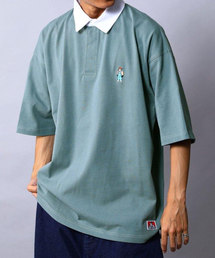 別注 ビッグシルエット SSラガーシャツ/オーバーサイズ【WEB限定】