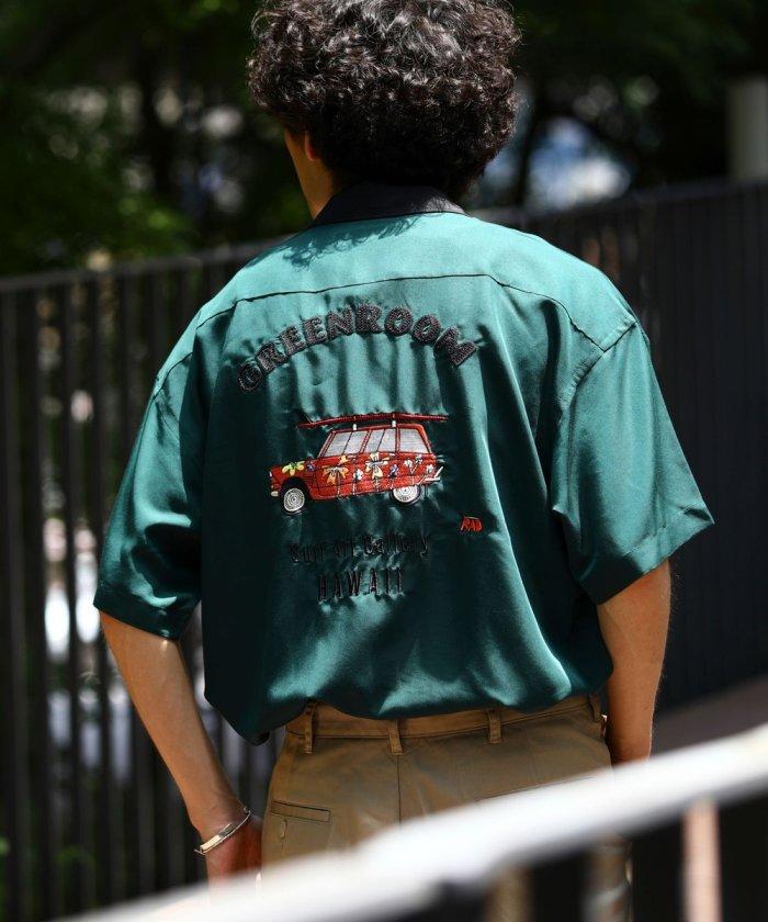 別注 バック刺繍 オープンカラーシャツ/KEVIN BUTLER【WEB限定】