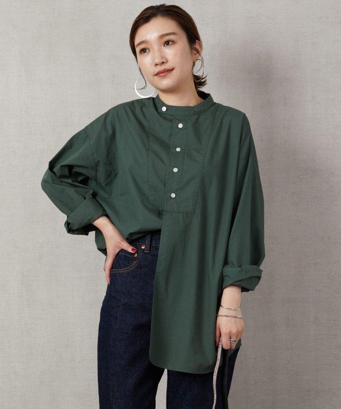 スタンドカラーデザインシャツ【WEB限定】【一部予約商品】
