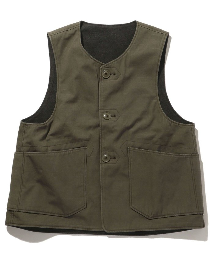 OVER VEST - HEAVYWEIGHT COTTON RIPSTOP/JL101A