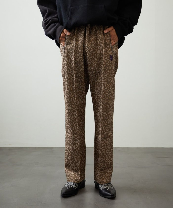 TRACK PANTS POLY SMOOTH JACQURD